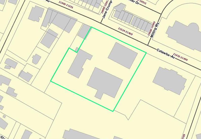 Plot of land for Cornelius' new Arts Center